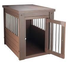 amazon com ecoflex pet crate end table pet supplies