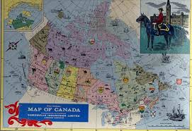 map of canada puzzle map of canada puzzle major tourist attractions maps