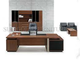 Moderner Schreibtisch Moderner Melamin Büro Möbel Manager Schreibtisch Sz Od336 Foto