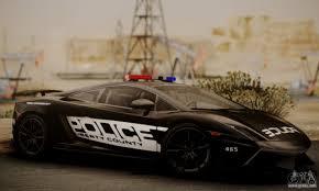 police lamborghini aventador lamborghini gallardo lp 570 4 2011 police v2 for gta san andreas