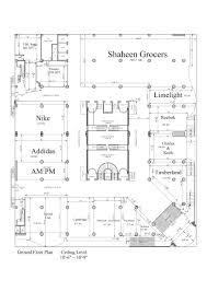 Ground Floor Plans Floor Plans Safa Gold Mall