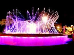 water fountain with lights awesome dancing water fountain with lighting youtube