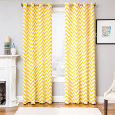 Yellow White Curtains Charming Yellow And White Curtains And Grey Yellow White Chevron