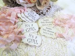 baby shower favor tags its a parchment double sided