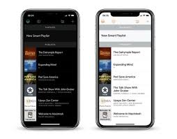 light app for iphone overcast podcast app gains new black dark theme end of episode