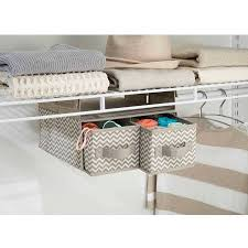 interdesign chevron fabric hanging closet storage organizer 2