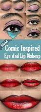 Halloween Lip Makeup 133 Best Comic Books Come Alive Images On Pinterest Pop Art