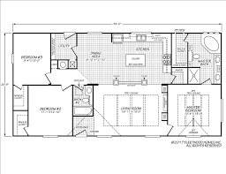fleetwood mobile home floor plans wingate 28543g fleetwood homes
