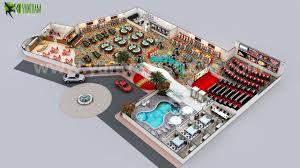 unique casino floor plan design ideas by yantram 3d floor design