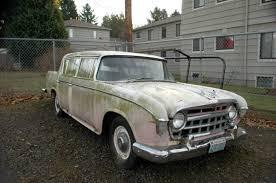 rambler car for sale old parked cars not rambling anywhere 1956 nash hudson rambler