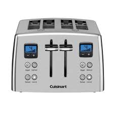 Blue 4 Slice Toaster Cuisinart 4 Slice Stainless Toaster Cpt 435 The Home Depot