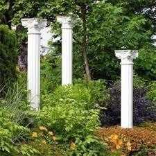 Greek Column Pedestal Garden Columns Pedestals Foter