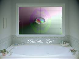 window blinds buddha eye window blind image