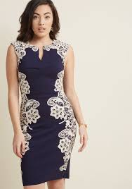 lakeside libations sheath dress in navy modcloth