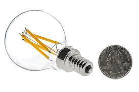 Decorative Chandelier Light Bulbs by G14 Led Filament Bulb 40 Watt Equivalent Led Candelabra Bulb