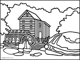 old mill clipart 7