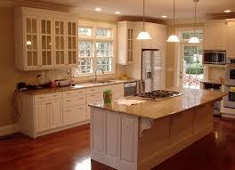 Porcelain Tile Kitchen Floor Brown Solid Cabinet Storage Wall Mounted Porcelain Tile Kitchen