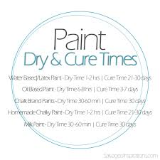 paint dry and paint cure two totally different things u0026 a