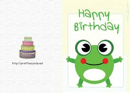printable birthday card decorations make your own birthday card and print it free student birthday card