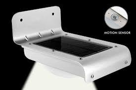 Solar Motion Lights Outdoor - 16 led solar power motion sensor garden security lamp outdoor