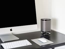 the flexson desk stand for the sonos play 1 stylish speaker stand