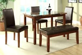 dining room tables with bench black dining room table with bench createfullcircle com