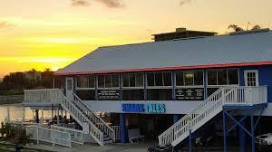 shark tales waterfront restaurant st pete beach florida