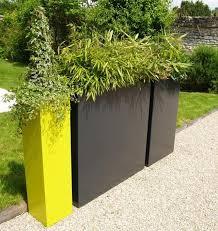 pflanzen als sichtschutz fã r balkon pflanzkübel fiberglas anthrazit fungiert als sichtschutz auf