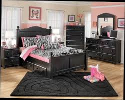 bedroom twin size black modern stained solid wood storage bed