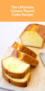 classic pound cake pound cakes cake and recipes
