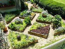 Building Raised Beds Raised Bed Garden Plans For A Self Contained Garden Gf Diy