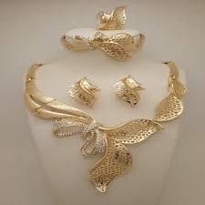 gold sets design high quality fashion wedding jewelry sets