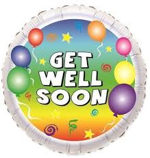 get well soon and balloons 9 inch get well soon balloon flowers delivery 4 u southall