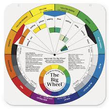 the big wheel color wheel with gray scale 25