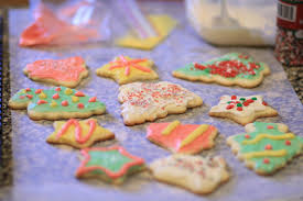 christmas traditions homemade sugar cookie cutouts