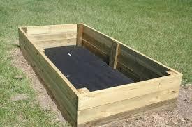 new raised vegetable garden box side x side world