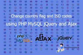 Conutry Flags Change Country Flags And Isd Code Using Php Mysql Ajax And Jquery