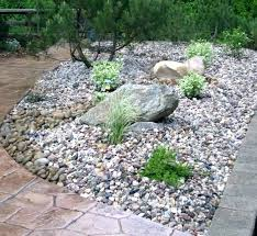 Small Rocks For Garden Landscaping Pictures With Rocks Landscaping With Rocks And