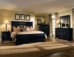 pleasant bedroom decorating ideas black furniture interior home