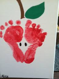 footprint make amazing gifts and are a activity