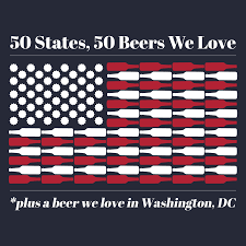 States Ive Been To Map by Serious Eats 50 States 50 Beers We Love