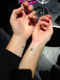 best 25 sister symbol tattoos ideas on pinterest finger letter