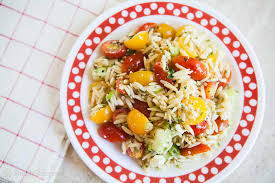 cuisine cherry cherry tomato orzo salad recipe simplyrecipes com