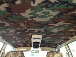 jeep headliner replacement camouflage headliner in 92 jeep xj jeeps