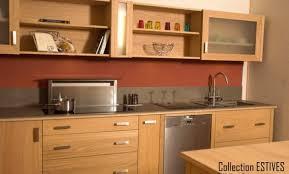 meuble cuisine en inox meubles cuisine inox du blanc pour une cuisine lignes pures