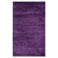 Fuzzy Purple Rug Purple Area Rugs Target
