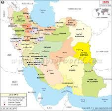 map iran political map of iran iran provinces map