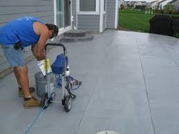 Concrete Patio Resurfacing Products Concrete Contractors Little Guy Construction Elgin Il Patio