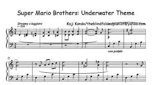sheet music super mario brothers u2013 cynical