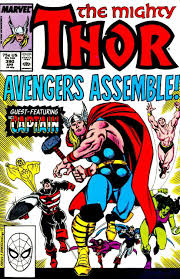 thor 390 the hero and the hammer issue